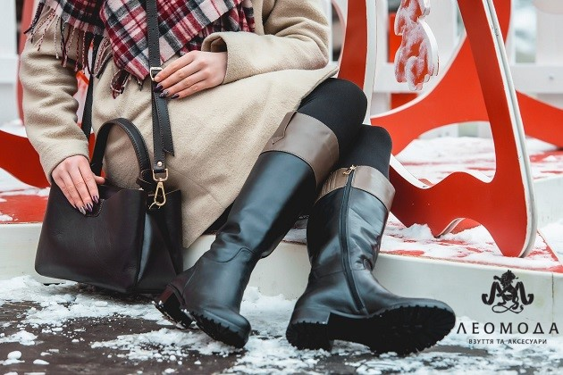 3466872e0 Если вы всё еще сомневаетесь, можно ли носить сапоги на каблуках зимой,  спешим вас порадовать - причин для отказа от этой изящной обуви нет.