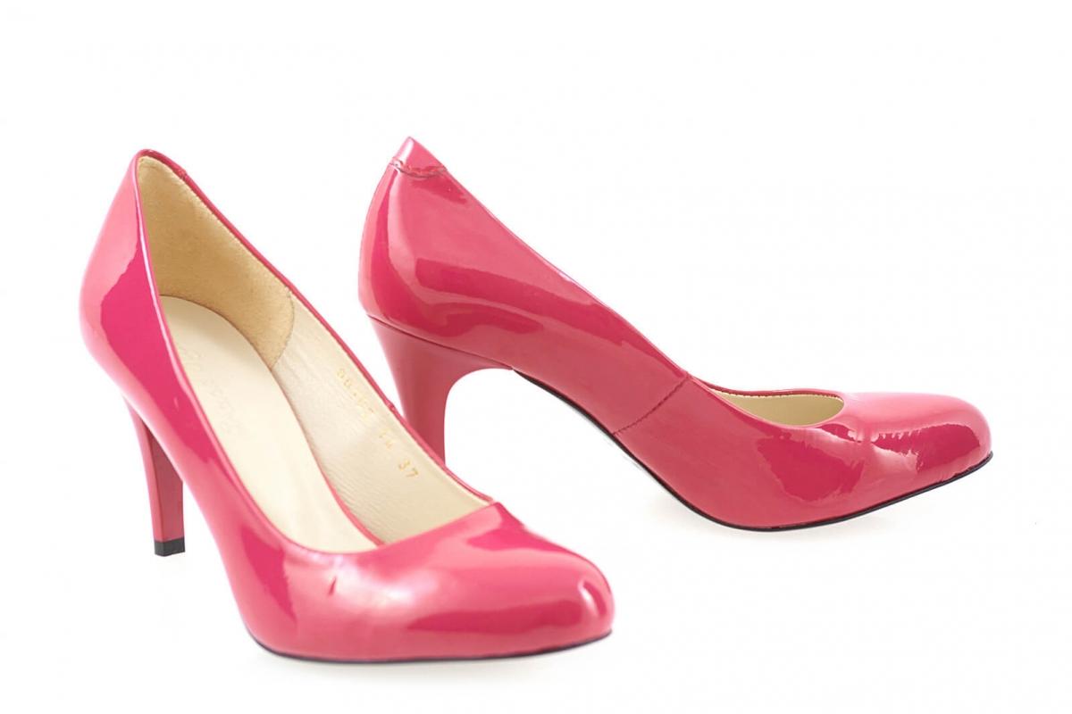 29e85fda845e50 Купити Туфлі-човники 80102   Колір: малиновий   Матеріал: шкіра лакована  натуральна   Туфлі-човники   Туфлі-човники - інтернет-магазин leomoda.ua