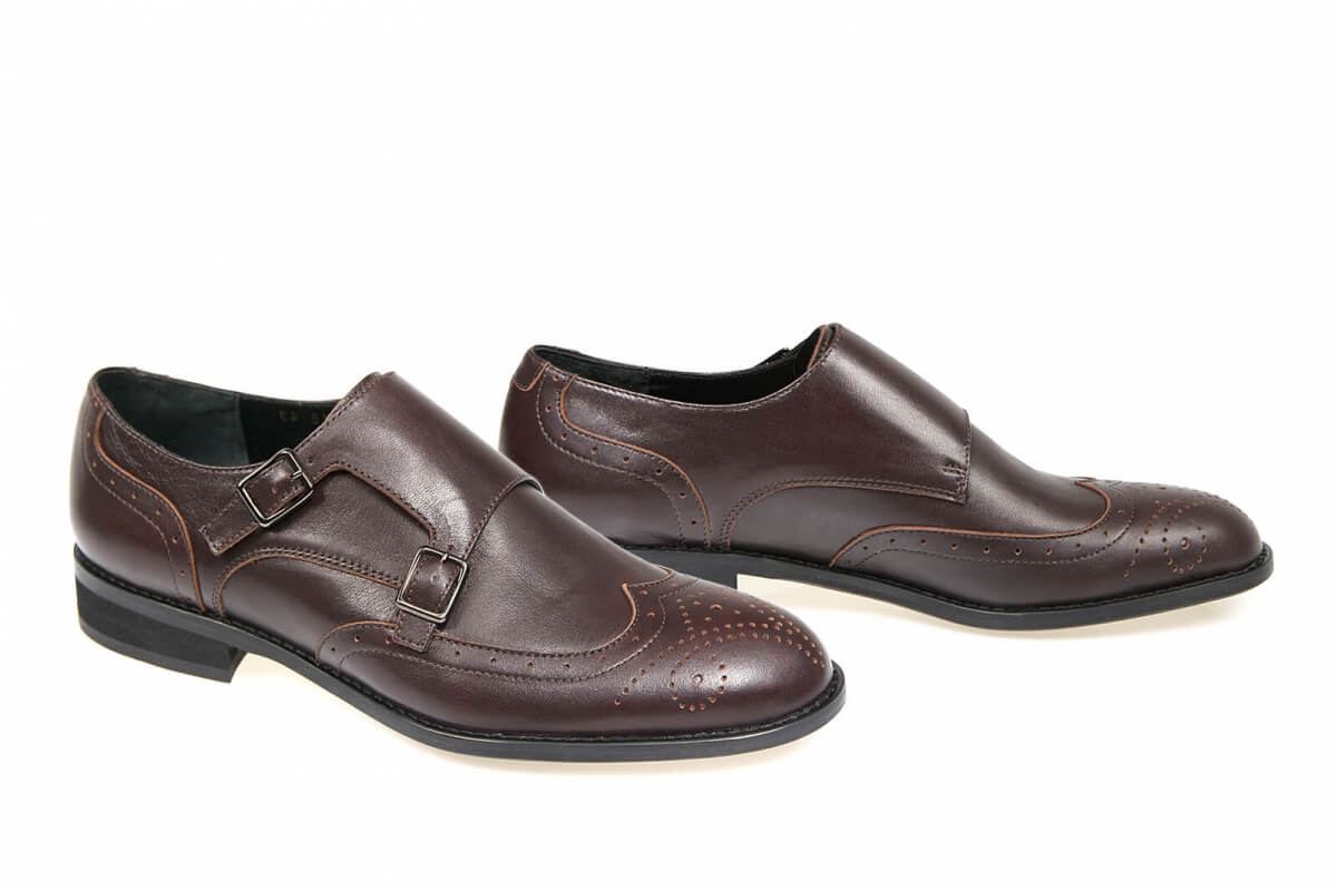 6658e4b63 Купить Туфли 0026 | Цвет: коричневый | Материал: кожа натуральная | Туфли  мужские | Туфли - Интернет-магазин leomoda.ua