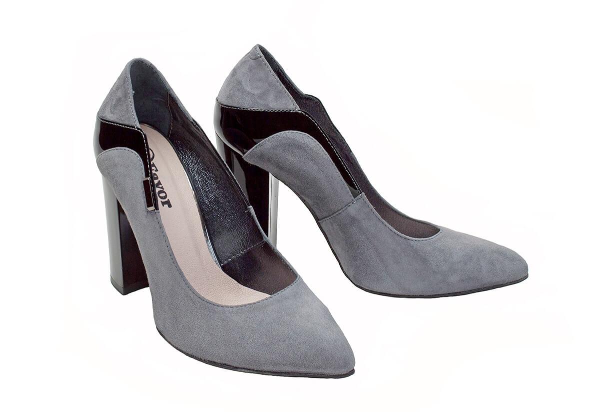 437c63955867 Купить Туфли-лодочки 12_586 | Цвет: | Материал: велюр/кожа лакированная  натуральная | Женская обувь | Туфли-лодочки - Интернет-магазин leomoda.ua