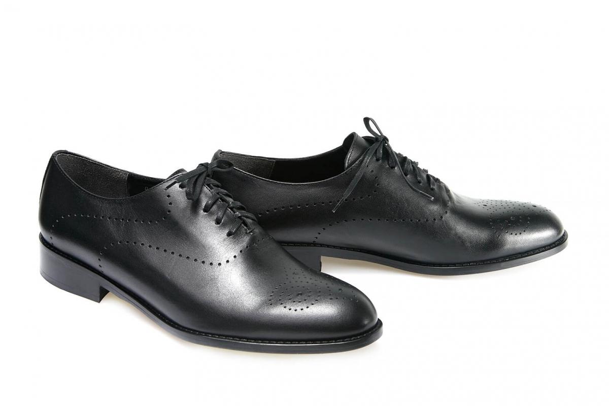 694759449cb222 Купити Туфлі 0033 | Колір: чорний | Матеріал: шкіра натуральна | Розпродаж  | Туфлі - інтернет-магазин leomoda.ua