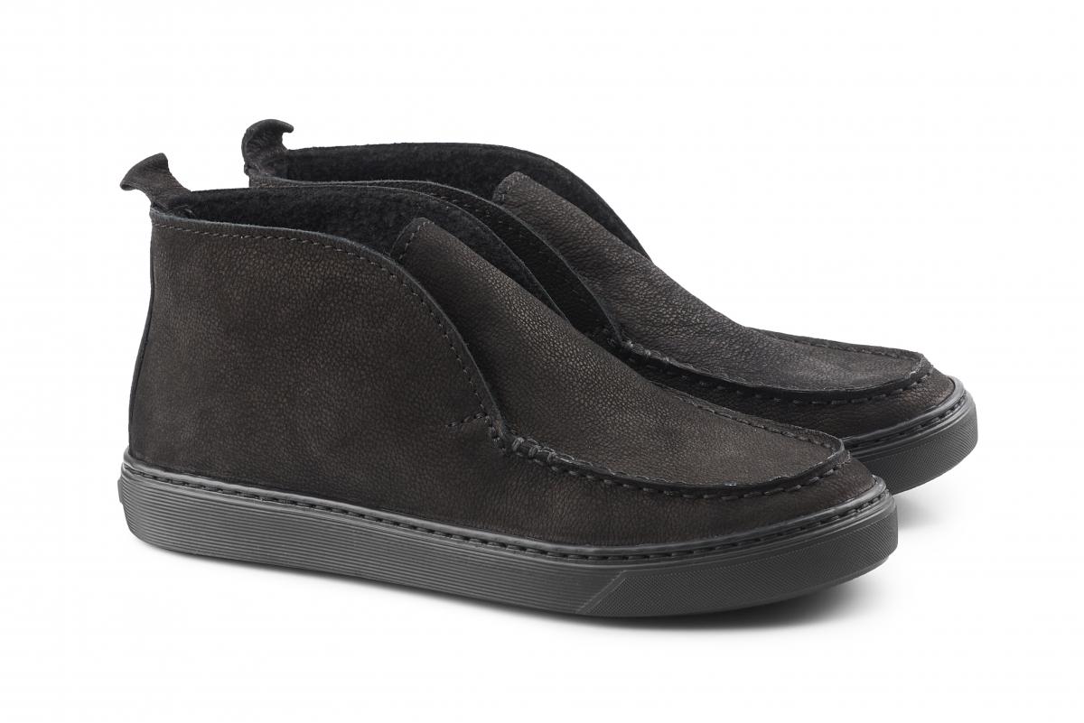 00b572289 Купить Мокасины 10367   Цвет: чёрный   Материал: нубук натуральный    Распродажа   Мокасины - Интернет-магазин leomoda.ua
