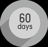 Гарантія якості<br>60 днів