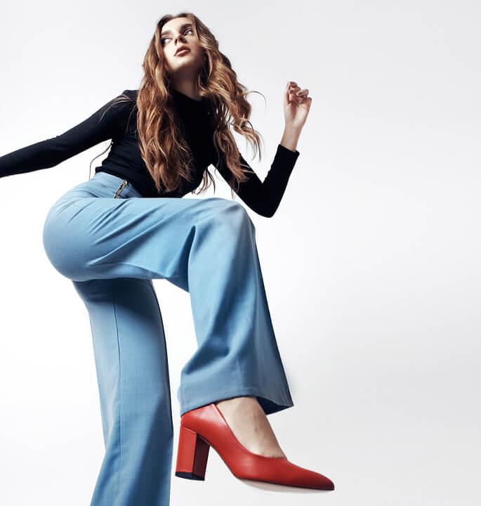Женская кожанная обувь в ЛеоМода
